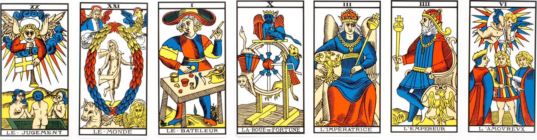 bateleur roue de fortune imperatrice
